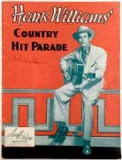 "Hank Williams – Signed 1950 ""Country Hit Parade"" Songbook"