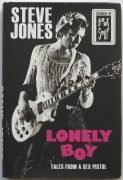 "Sex Pistols – Steve Jones Signed ""Lonely Boy"" First Edition Book"