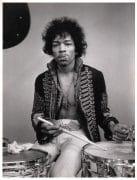 Jimi Hendrix – Original 1967 Monterey Pop Festival Photograph (11 1/2″ x 15″)