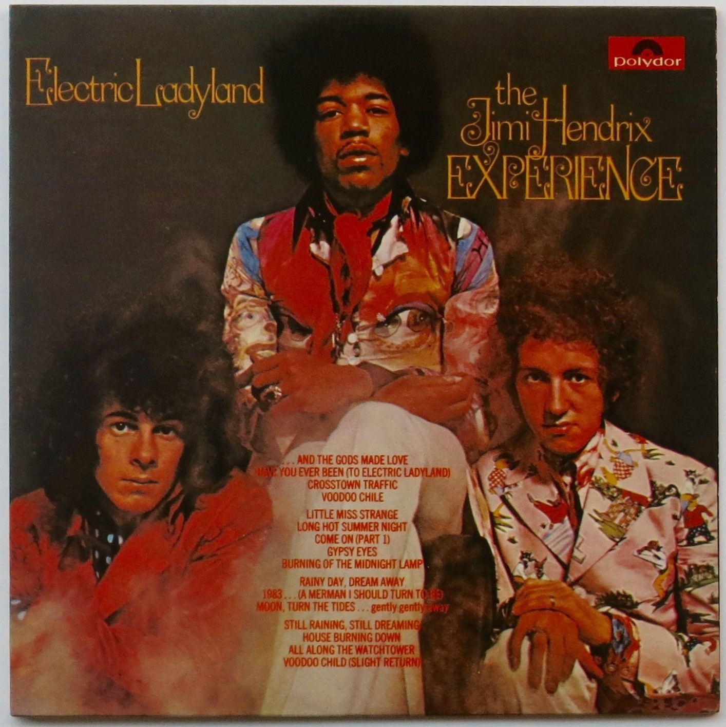 The Jimi Hendrix Experience Mint Early Italian Pressing Electric Ladyland Double Album