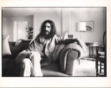 Frank Zappa – Vintage Simon Folwer Photograph Published in 'Sounds', 10″ x 12″