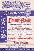 Count Basie / Bud Powell – 1956 Birdland Handbill