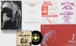 "The Stooges/Iggy Pop – ""Total Chaos,"" Signed Limited Edition Book With 45, Poster, More…"