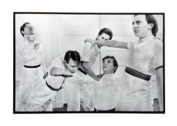 DEVO – Large 1977 Photograph Signed By Gerald V. Casale & Photographer Richard Peterson (23 1/2″ x 17″)