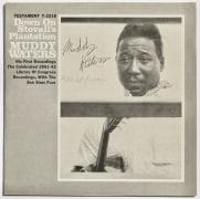 "Muddy Waters & Pinetop Perkins – Autographed ""Down at Stovall's Plantation"" LP"