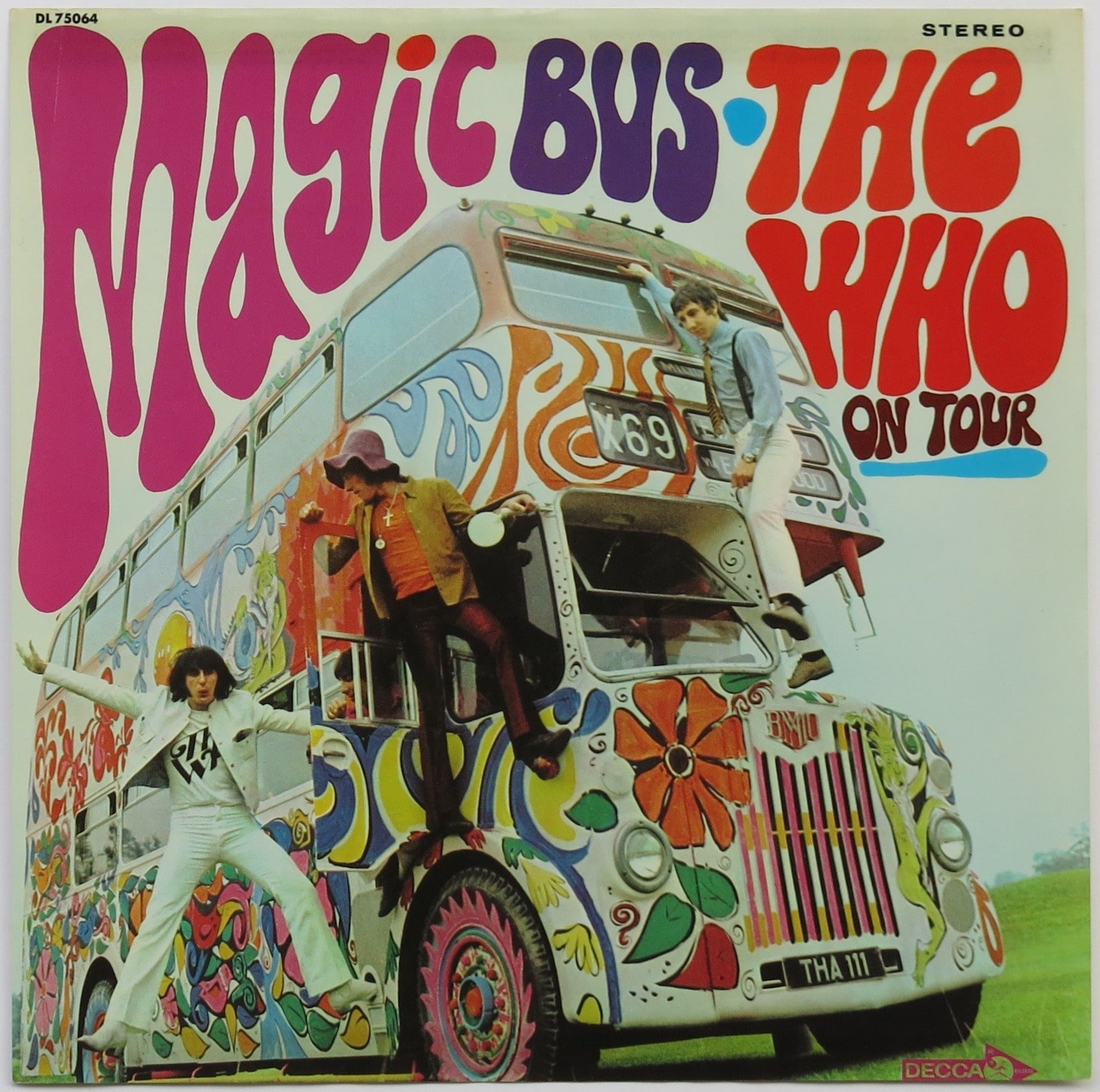 The Who Set Of Five 1970 Decca Album Cover Displays