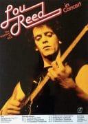 Lou Reed – 1979 German Tour Concert Poster (Velvet Underground)