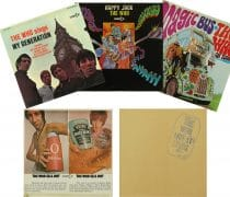 "The Who – Set of Five 1970 Decca Album Cover Displays (Including ""My Generation"" and ""Sell Out"")"