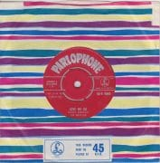 "The Beatles – Debut 45 UK ""Love Me Do"" 1962 Red Parlophone 45, With Original Sleeve"