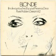 "Blondie – Autographed UK 12″ EP ""(I'm Always Touched By Your) Presence, Dear"""