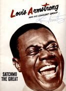 Louis Armstrong – Beautifully Autographed Concert Program