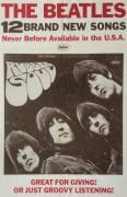 "The Beatles – 1965 Capitol Records ""Rubber Soul"" Promo Poster"