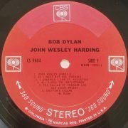 "Bob Dylan – Rare 1968 US Export ""John Wesley Harding"" LP"