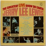 "Jerry Lee Lewis – 1965 Signed UK 1st Pressing ""The Greatest Live Show On Earth"" LP"