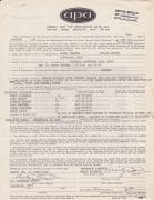 Jefferson Airplane – Marty Balin Signed 1968 Concert Contract and Agent's Letter