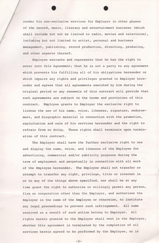 Frank Zappa Signed 1970 Intercontinental Absurdities Employee