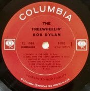 """Bob Dylan – Original """"Freewheelin'"""" LP With 4 Unreleased Tracks / One Of The Rarest Records In The World"""