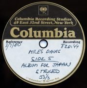 Miles Davis – 2 Columbia Studios Acetate LPs, With 40 Minutes of Unreleased Music