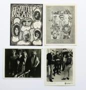Grateful Dead – 1967 WB Publicity Photos, Fan Club Zine, Mini Poster