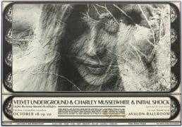 Velvet Underground  – Guitarist Sterling Morrison's Personal 1968 Family Dog Concert Poster (FD-142)