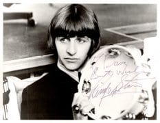 Ringo Starr (The Beatles) – Beautifully Signed Beatles-Era Photograph, with Perry Cox COA