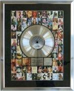 "Madonna – Oversize RIAA ""Greatest Hits Volume 2"" Platinum Record Award"