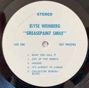 "Elyse Weinberg – Unreleased 1969 2nd LP Test Pressing ""Greasepaint Smile"" With Neil Young (Acid Psych)"