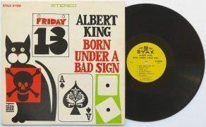 "Albert King- 1967 Near Mint 1st Pressing ""Born Under A Bad Sign"" Stax LP"