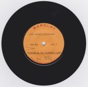"Jimi Hendrix Experience – 1967 French Barclay Records Test Pressing 45 ""Burning of The Midnight Lamp"""
