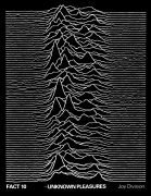 Joy Division – Extremely Rare 'Unknown Pleasures' UK Promotional Poster / From Manager's Archive