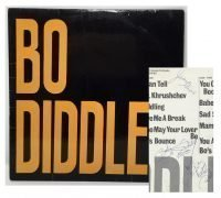 "Bo Diddley – 1963 UK ""Bo Diddley"" LP, Signed by Diddley, Jerome Green & The Duchess, with Lifetime Guarantee"