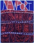 Bob Dylan – 1964 Newport Folk Festival Concert Program