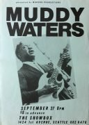 Muddy Waters – 1980 Seattle Concert Poster