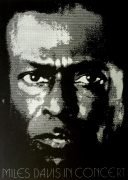 Miles Davis – Silkscreen Concert Poster