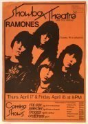 The Ramones – 1980 Seattle Concert Poster