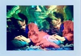 Jimi Hendrix – Silkscreen Print by Ira Cohen