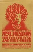 Jimi Hendrix – 1968 Shrine Auditorium Handbill