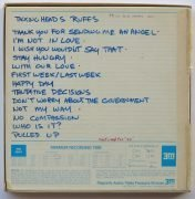 "Talking Heads  – Unreleased ""77"" Rough Mix Reel-to-Reel Tape, From Producer Ed Stasium's Collection (with unreleased tracks)"