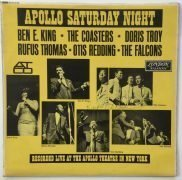 "Otis Redding – Autographed ""Apollo Saturday Night"" LP, with Roger Epperson Letter of Authenticity"