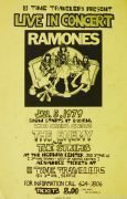 "Ramones – 1979 ""Road to Ruin"" Era Seattle Concert Poster"