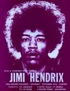 Jimi Hendrix – 1969 Ft. Worth, Texas Handbill