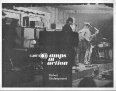 Velvet Underground – 1969 Sunn Amplifiers Handbill