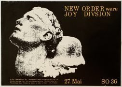 "New Order – 1981 Berlin Concert Poster ""New Order Were Joy Division"""