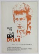 Bob Dylan – 1966 Danish Concert Poster/Record Store Promo Piece