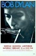 Bob Dylan – 1966 Norfolk, VA Concert Handbill