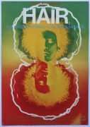Hair – 1968 Poster From Original Broadway Run