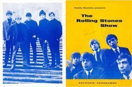 Rolling Stones – 1964 Signed UK Tour Program with 2 COA's