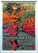 Dantalian's Chariot / Jeff Beck Group / Ten Years After – 1967 UFO Roundhouse Concert Poster (Designed by Martin Sharp for Osiris)