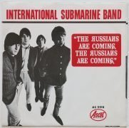 "International Submarine Band / Gram Parsons – 1966 Mint Picture Sleeve Promo 45 ""The Russians Are Coming!"""