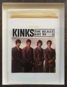 "The Kinks – Original Artwork For 1964 U.S. Debut Album ""You Really Got Me"""